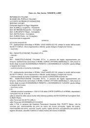 Cass. civ., Sez. lavoro, 12/03/2010, n.6081 REPUBBLICA ITALIANA ...