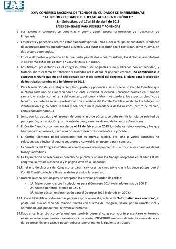 Bases para participar en el XXIV Congreso Nacional - Sindicato SAE