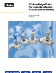 Hi-Pro-Kugelhahn fur Hochleistungs-Prozessabsperrung