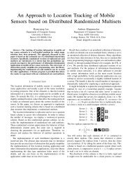 An Approach to Location Tracking of Mobile Sensors based on ...