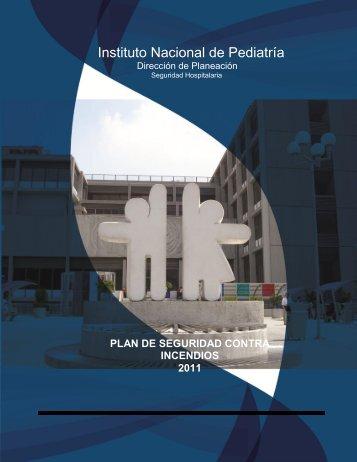 Plan de seguridad contra incendios - Instituto Nacional de Pediatría