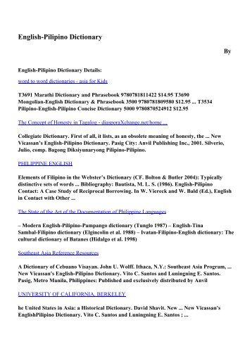 A dictionary of everyday words and phrases derive pdf ebooks download english pilipino dictionary pdf ebooks by fandeluxe Image collections