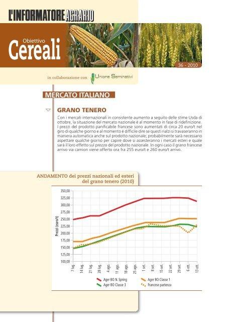 2010 - 14 Ottobre Numero 36 - L'Informatore Agrario