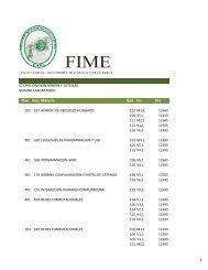 laboratorio - FIME UANL
