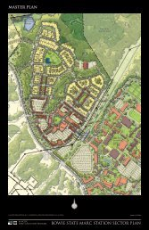 BOWIE STATE MARC STATION SECTOR PLAN Master Plan