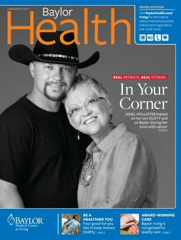 Irving - Baylor Health Care System Online Newsroom