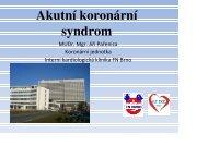 Akutní koronární syndrom - AKUTNE.CZ