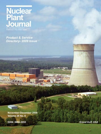 Product & Service Directory 2009 - Nuclear Plant Journal
