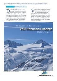 VOM HOCHJOCH-HOSPIZ - Almenrausch