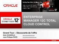 Enterprise Manager 12c Total Cloud Control