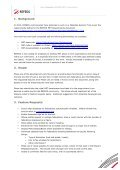 REFEDS Workpackage 4-13 MET 2 Requirements Abstract: - Terena - Page 2