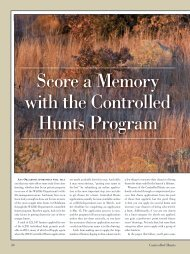 Score a Memory with the Controlled Hunts Program - Oklahoma ...