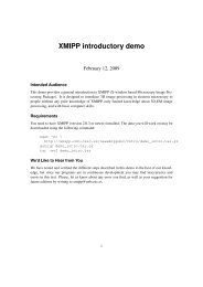 XMIPP introductory demo