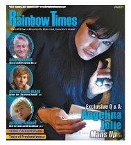 August 5, 2010 - The Rainbow Times