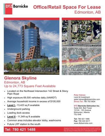 Glenora Skyline - Altus InSite