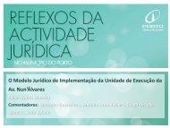 unidade de execução - Câmara Municipal do Porto