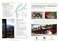centro didattica ambientale - Agenzia provinciale per la protezione ...