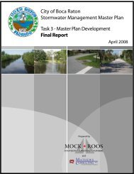 Master Plan Development - City of Boca Raton