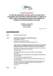Programme - EZA