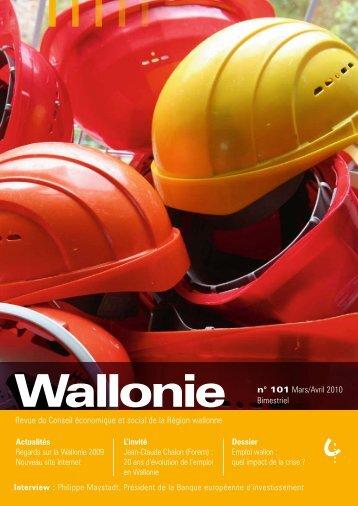 Revue du Conseil économique et social de la Région wallonne