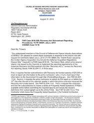 FAR Case 2010-008 - Aerospace Industries Association
