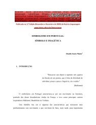 SIMBOLISMO EM PORTUGAL: SÍMBOLO E IMAGÉTICA