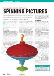 SPINNING PICTURES - Linux Magazine
