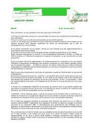 ANACOFI NEWS n°21