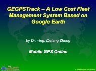 GPSTrackP – A Low Cost Vehicle and Driver ... - Costkiller