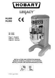 6 - Hobart Food Equipment