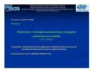 Flotatia ionica – tehnologie avansata de tratare a levigatelor ...