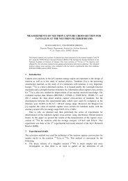 measurements of neutron capture cross-section for ... - UkrNDC