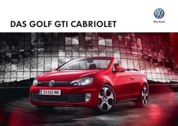 DAS GOLF GTI CABRIOLET - Volkswagen