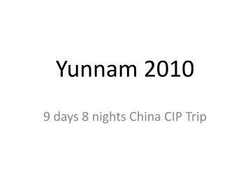 Yunnam 2010