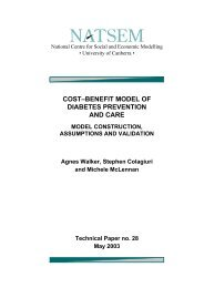 COSTœBENEFIT MODEL OF DIABETES PREVENTION AND CARE