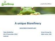 Envor Biorefinery
