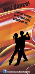 just dance! - Tanzschule Wiater