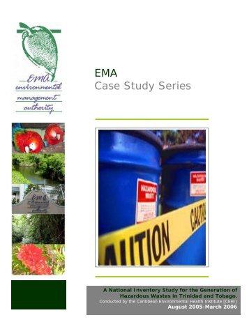 Inventory Study of Hazardous Waste in Trinidad and Tobago