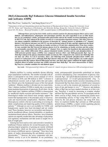Ginsenoside Rg3 Enhances Glucose-Stimulated Insulin Secretion ...