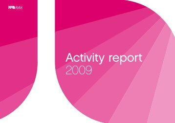 Annual report 2009 - iMinds