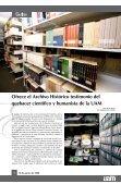 Archivo Histórico: 20 años como depositario de la memoria de la UAM - Page 4