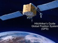 Hitchhiker's Guilder Global Positioning System - Esri