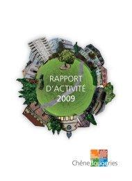 Rapport d'activité 2009 [24 Mo] - Chêne-Bougeries