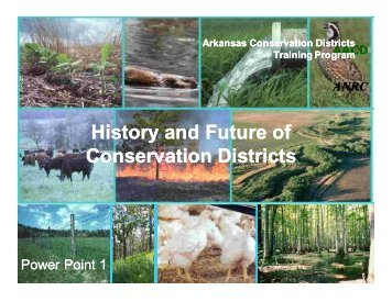 History and Future of Conservation Districts (PowerPoint) - nasca