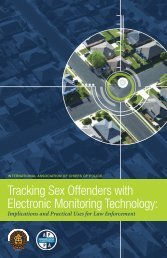 Tracking Sex Offenders with Electronic Monitoring Technology: