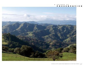 Sonoma County Agricultural Preservation and Open Space District