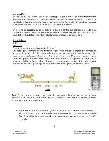 La gacela y el chita - Alacima