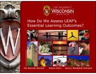 Presentation - University of Wisconsin-Madison