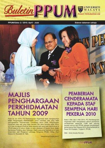 2010 PPUM BULETIN 2B.indd - Login Portal PPUM
