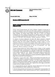 Circolare n. 2-2004 - Comune di Milano
